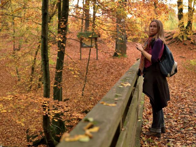 Ich im Sachsenwald | Waldspaziergang.org