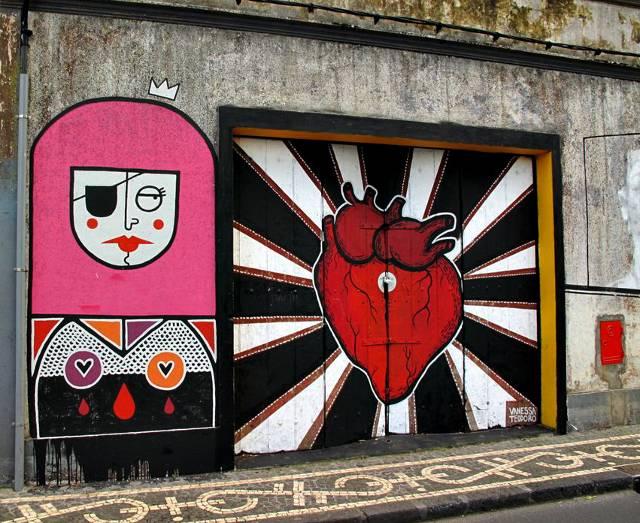 Street Art Ponta Delgada | Waldspaziergang.org