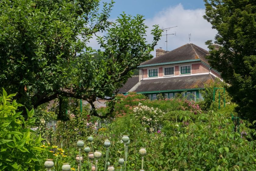 Monets Haus in Giverny | Waldspaziergang.org